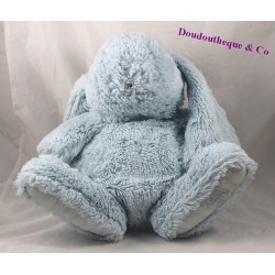 Plush Augustine rabbit sandwich and chocolate blue white 35 cm