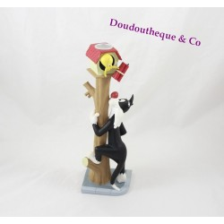 Tweety and Sylvester DEMONS and wonders statuette candlestick resin 24 cm