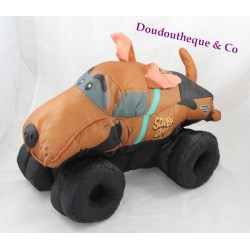 Peluche truck Scooby-Doo MONSTER JAM camion chien marron