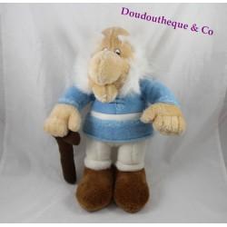 Peluche Agecanonix Michael Mühleck Gmbh vieillard bleu 38 cm