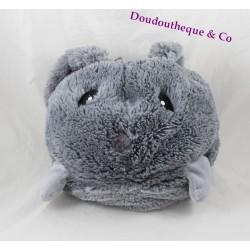 Plush range Pajama Bunny ETAM grey rabbit bottle ball 33 cm