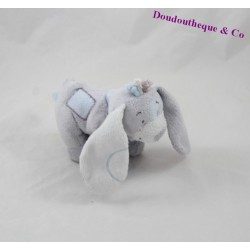 Dog plush NOUKIE's Arthur and Merlin blue and gray 15 cm