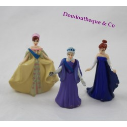 Ensemble 3 figurines Anastasia FOX 97 GTI et sa grand-mère robe de bal