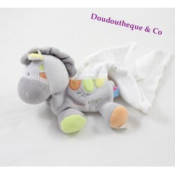 Doudou handkerchief horse pony sugar collection cashew 20 cm