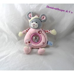 Rattle mouse pink Apple GIPSY Bell 23 cm