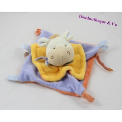 Doudou flat donkey DOUDOU and company seeds of blue blankie DC2288 18 cm
