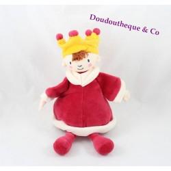 Doudou Prince Roi KATHERINE ROUMANOFF  MOULIN ROTY  Dim Dam Doum  23 cm