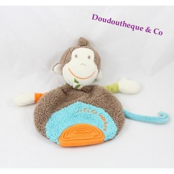 Flat Doudou monkey BABYSUN teether 22cm