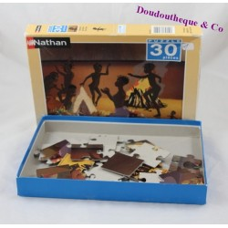 Puzzle Kirikou NATHAN 30 pièces complet