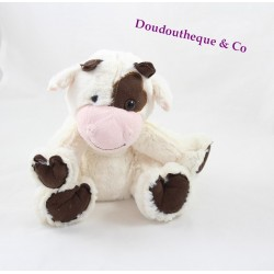 Plush cow Yvette the small Mary White Brown 20 cm