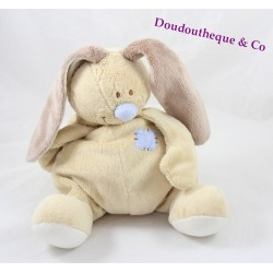 Plush musical Bloupi rabbit beige blue JOLLYBABY 27 cm