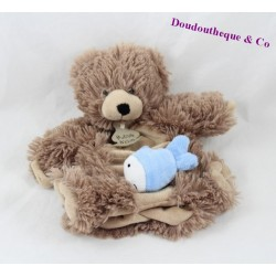 Doudou puppet Hedgehog story of bear Fox finger puppet