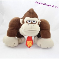 Peluche singe MARIO PARTY Nintendo Donkey Kong marron 26 cm