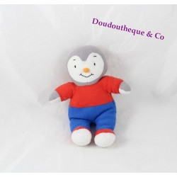 Plush you Charlie NATHAN red and blue nose orange 19 cm