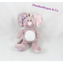 Mini plush mouse NOUKIE Nina's Kali Nina and Kenza pink and purple 16 cm