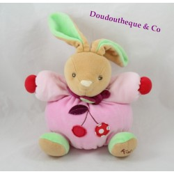 Plush rabbit KALOO Colors Bunny cherry pink 18 cm