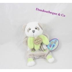 Mini doudou marionnette à doigt panda DOUDOU ET COMPAGNIE Le Jardin merveilleux