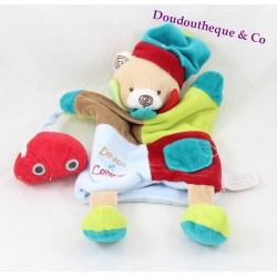 Doudou puppet bear Shane BLANKIE and company red car