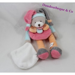 Doudou puppet bears DOUDOU and company fishing Strawberry collector petals