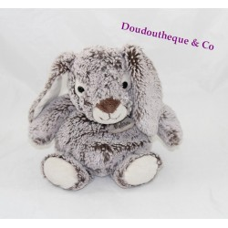 Plush Bunny bear story the Z' gray ball Brown z'animoos HO2348 24 cm