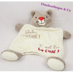 Doudou puppet cat CATIMINI 1,2,3... touched! You're the cat!