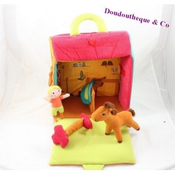 Toy horse awakening & games box box resealable character plush