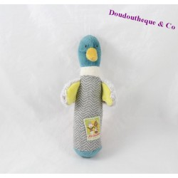 Rattle pouet duck MOULIN ROTY cousins of the mill 19 cm