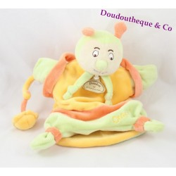Doudou puppet Choco COMFORTER and company the wonderful garden snail