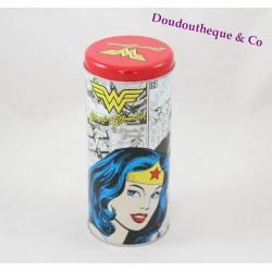 Boite en fer Wonder Woman DC COMICS ovale 18 cm