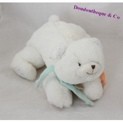 Bears Doudou Doudou UNICEF and white company DC2463 25 cm