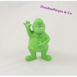 Figurine Hippolyte dinosaure FLUNCH L'île aux enfants retro vert Casimir