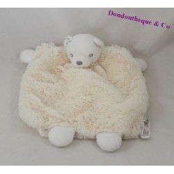 Doudou puppet bear KALOO beige Pearl 24 cm
