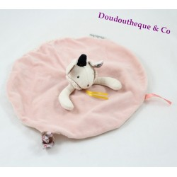 Doudou flat mouse MOULIN ROTY there once was a round pink fairy