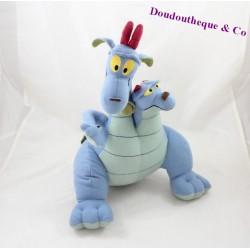 Peluche dragon à deux têtes Excalibur et l'épée magique siamois Cornouailles et Devon 32 cm