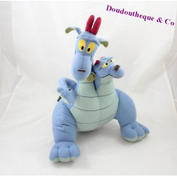 Plush dragon with two heads Excalibur and the magical sword Siamese Cornwall and Devon 32 cm