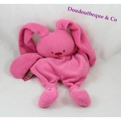 Doudou rabbit NATTOU mid-fat rose knots 35 cm