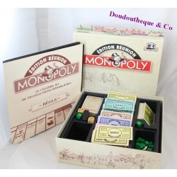 Jeu de société Monopoly TILSIT EDITIONS édition Réunion limitée et numérotée Complet