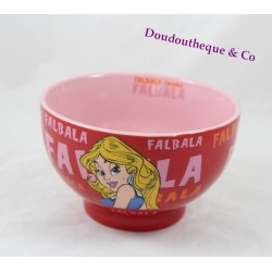 Bowl Falbala Park ASTERIX Goscinny-Uderzo 2009 red rose