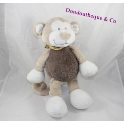 Plush monkey NOUKIE Bono's Bill and Bono brown beige monkey 30 cm