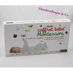 Mon coffret bébé Montessori NATHAN mobile et cartes d'éveil