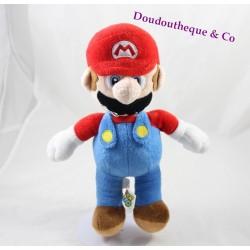 Peluche Mario NINTENDO casquette rouge salopette bleue Super Mario 28 cm