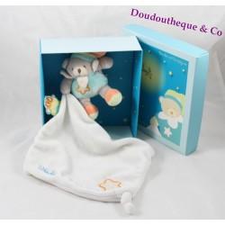 Doudou DOUDOU and company OWL bear tissue it's bright luminescent bear Mint