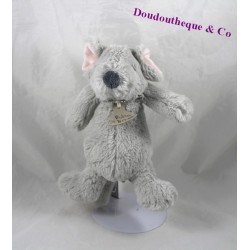 Plush mouse story of bear farm grey 23 cm round