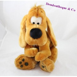 Peluche chien LASCAR Boule et Bill marron assis 32 cm