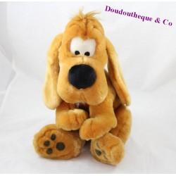 Peluche chien LASCAR Boule et Bill marron assis 32 cm