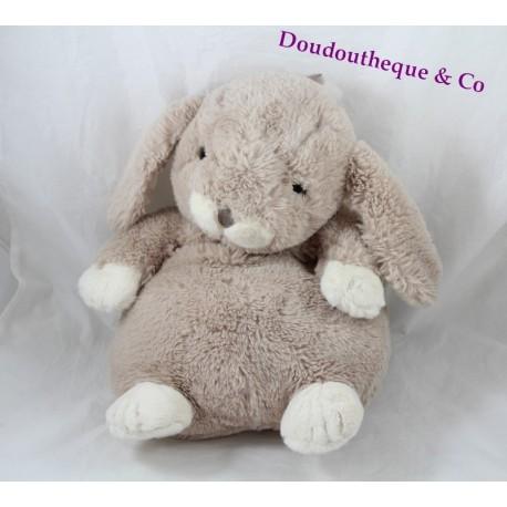 Plush Range Pajamas Etam Beige Bottle 40 Cm Sos Doudou Rabbit