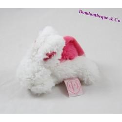 Doudou lapin DOUDOU ET COMPAGNIE Pompon Mini Coucou Doudou attaché tétine DC2679 13 cm