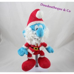 Plush Grand Smurfs PUPPY Father Christmas Peyo Smurfs 25 cm