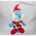 Peluche le Grand Schtroumpfs PUPPY Père Noël Peyo Smurfs 25 cm