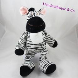 Plush Zebra black white striped NICOTOY 40 cm